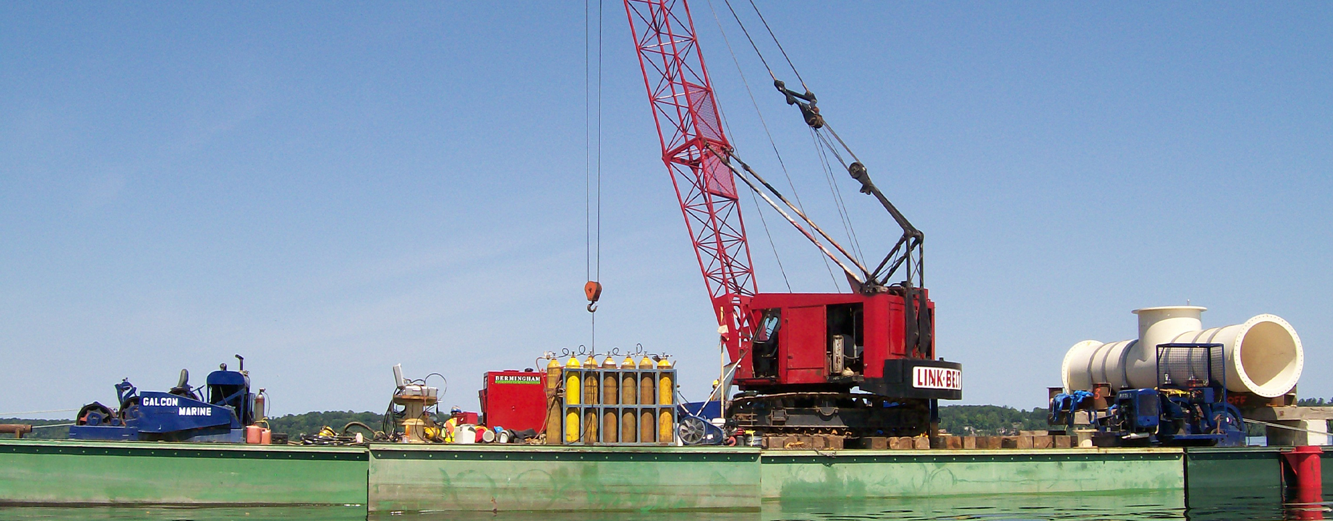 We are Fully Insured, Bondable, and Ready to Meet All Your Marine Project Requirements